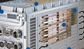 6U SIXHEX-20HP Six Heat Exchangers
