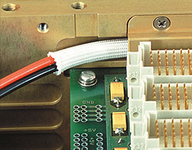 ATR EMI/RFI shielded wiring